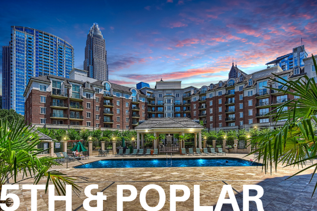 fifth and poplar condos for sale Uptown Charlotte NC 28202